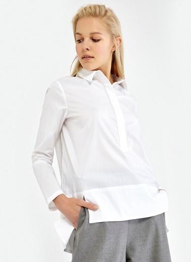 Önü Kısa Arkası Uzun Gömlek-Ipekyol